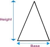 trekantet prisme volum