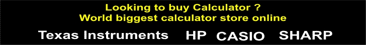 Buy Calculator Online - World Biggest Calculator Store Online!