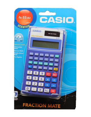 how to find percentage on casio calculator