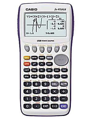 Casio FX-9750GII Graphing Calculator   Engineer's Calculators Store