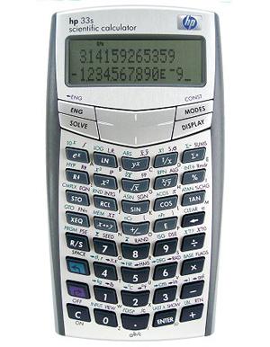 Hp 33s Scientific Calculator Engineer 39 S Calculators Store